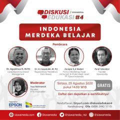 Webinar Diskusi Edukasi Siswamedia#4: Indonesia Merdeka Belajar