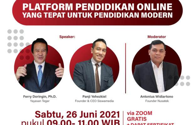 SesiEdukasi#1: Platform Pendidikan Online Yang Tepat Untuk Pendidikan Modern